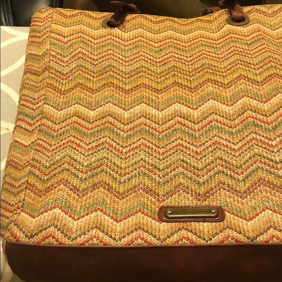Steve Madden Handbags - Lovingly used Steve Madden straw handbag